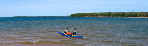 Kayaking in Apostle Islands