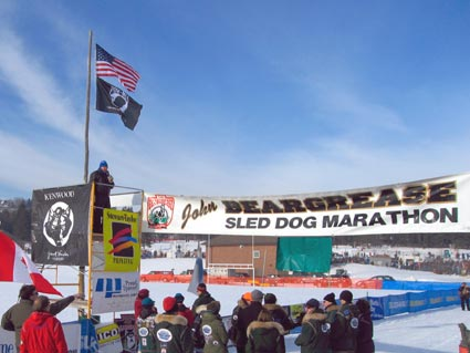 The 400 mile long John Beargrease Sled Dog Race Begins in Duluth