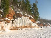 ice formations sea and ice caves apostle islands national lakeshore