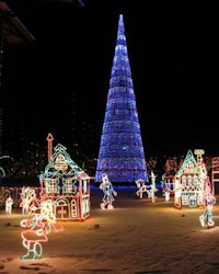 duluth bentleyville lights village