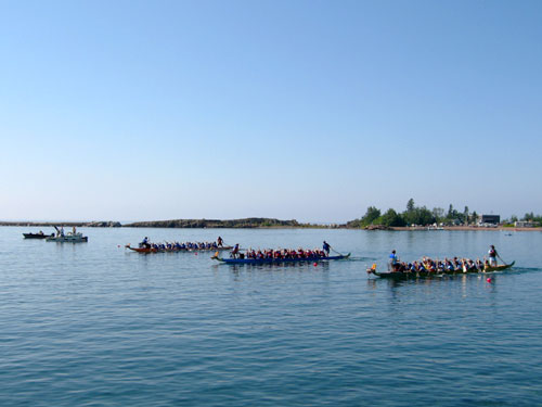 Grand Marais Lake Superior Dragon Boat Festival