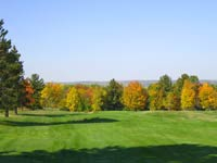 Fall Color picture at Chequamegon Bay Golf Course Ashland, WI