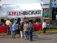 Apple Bratwurst at Apple Fest
