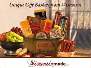 Holiday Food Gift Baskets from Wisconsin