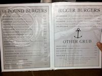 Anchor Bar Menu