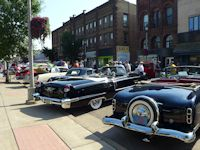 classic cars at Ashland car show