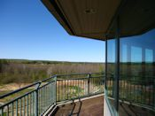 observation deck ashland visitor center