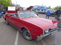 1967 Olds Cutless Convertible Grand Marais Car Show