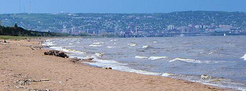 Park Point Beach Duluth Mn