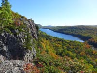 Porcupine Mountains Lake of the Clouds