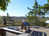 Piorcupine Mountains Scenic Overlook