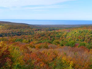 Piorcupine Mountains Fall Color