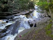 Cascades and Potholes on Presque Isle River