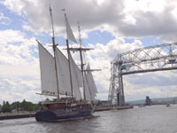 Peacemaker Sailing Vessel at Duluth Tall Ships Festival