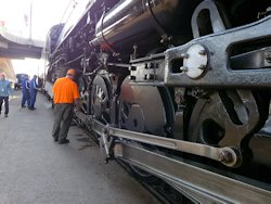 Milwaukee Road Steam Locomotive 261 S3 class
