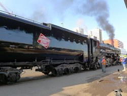 Milwaukee Road Steam Engine 261