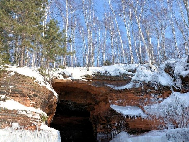 Bayfield Ice Caves Apostle Islands