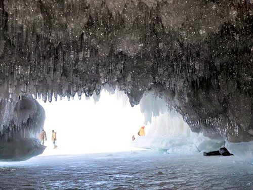 bayfield ice caves