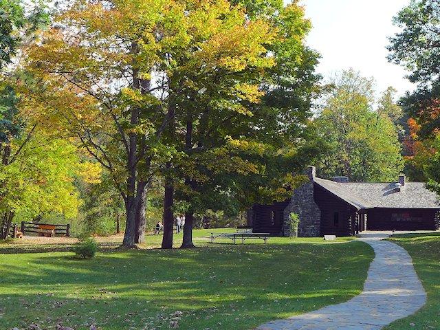 Copper Falls State Park Pavilion