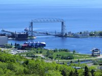 duluth harbor and lift bridge