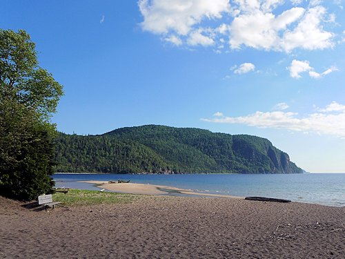 Old Woman Bay on Lake Superior