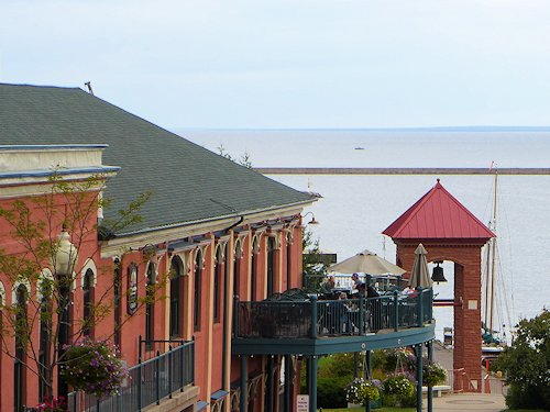 Marquette Michigan Harbor Park