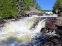 rainbow falls, rossport ontario