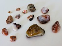 agates from Lake Superior Beaches