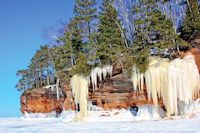 bayfield ice and sea caves