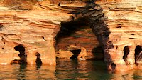 Devil's Island Sea Caves, Apostle Islands