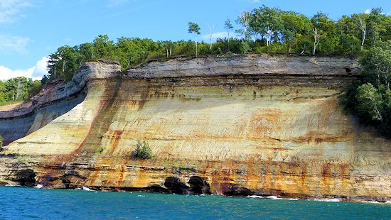 Pictured Rocks of Pictured Rocks National Park