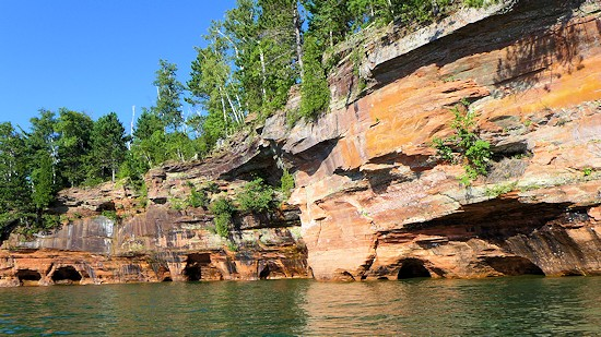 Sea Caves Bayfield Apostle Islands Park
