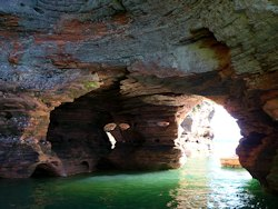 Sea Caves of apostle island national park