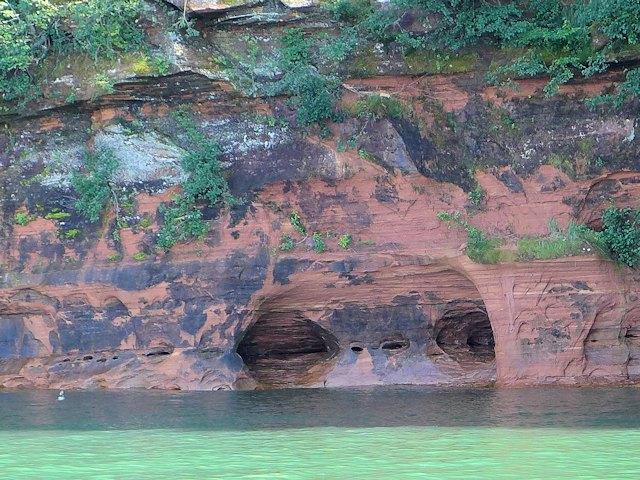 Apostle Islands Sea Caves Tour