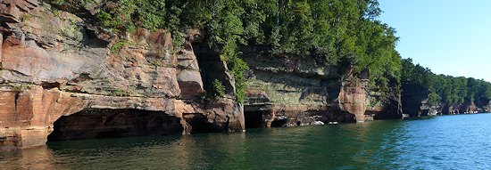bayfield wisconsin sea caves