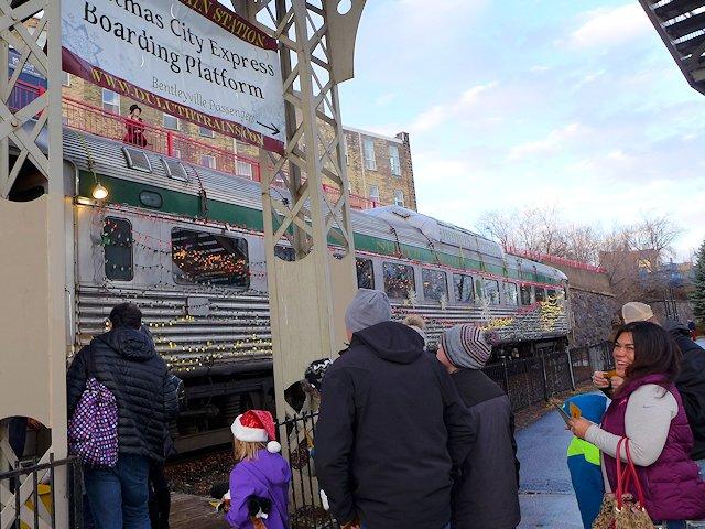 christmas city express - Christmas City Of The North Parade