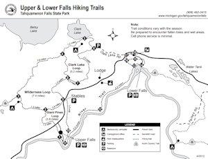 Tahquamenon Falls | Waterfalls, Hiking, Campinig