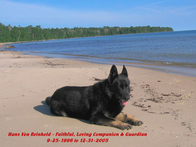 hans at Pendils Bay on Lake Superior