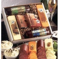 Holiday Cheese and Sausage Gift Box