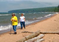 bayfield apostle island beach