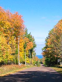 Fall Color Bayfield to Ironwood Scenic Drives