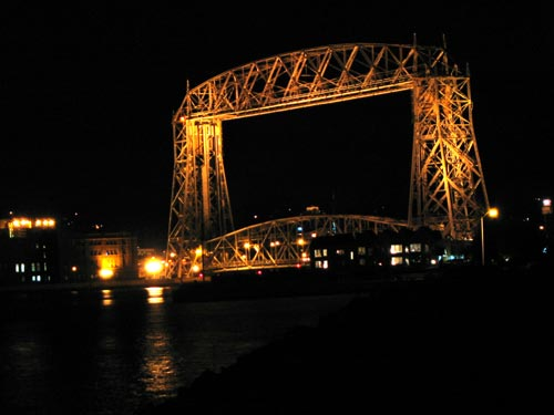 Duluth Aerial Bridge & Harbor