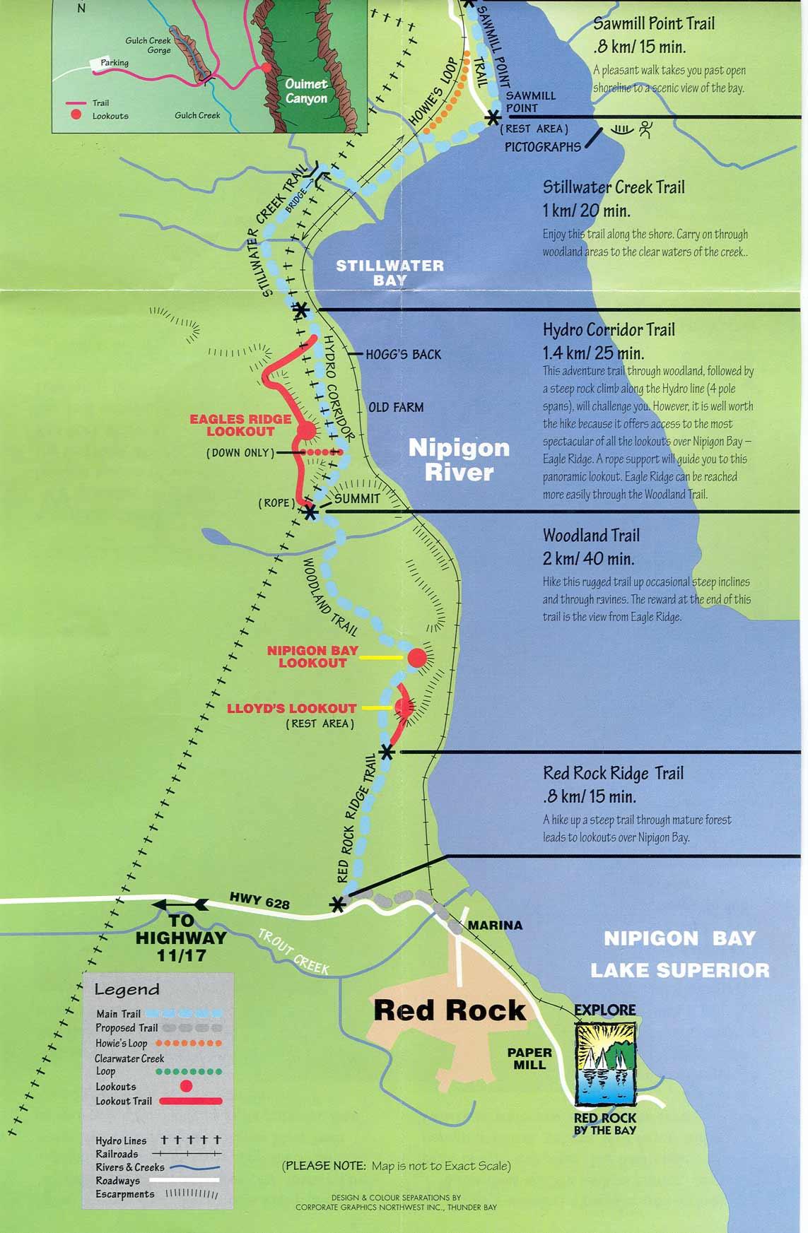 Worksheet. Thunder Bay to Nipigon  Lake Superior Circle Tour