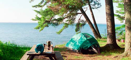 camping bayfield peninsula