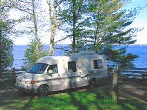 bayfield city campground