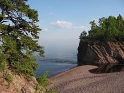 Baptism River Mouth - Lake Superior