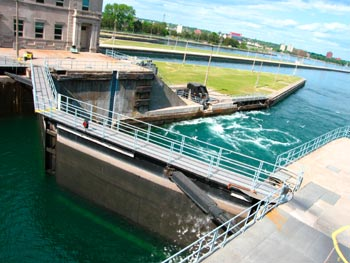 Soo Locks, Sault Saint Marie Michigan