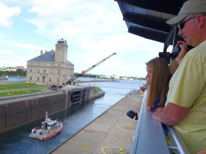 Soo Locks Viewing Platform