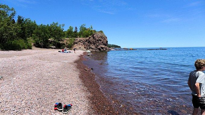 Black Beach Park beach
