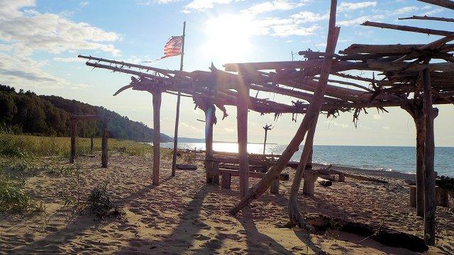 Grand Marais Michigan Beach